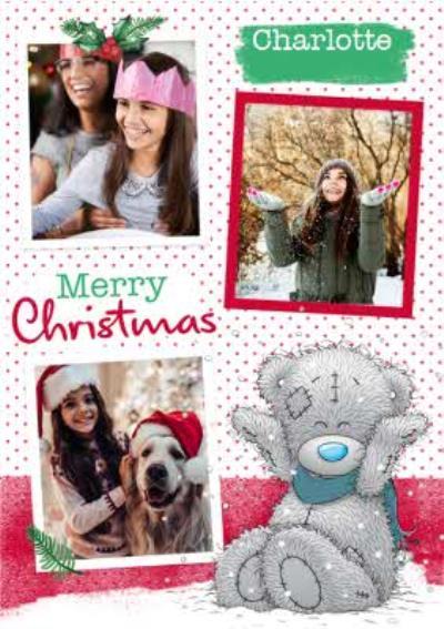 Me To You Tatty Teddy Christmas Photo Card