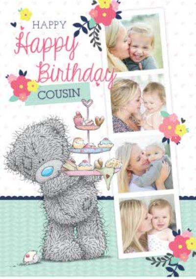 Tatty Teddy Cousin Birthday Card