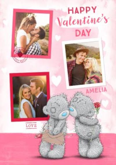 Me To You Tatty Teddy Kissing Bears Cute Happy Valentine's Day Card