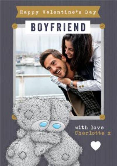 Me To You Hugging Tatty Teddy Bears To Boyfriend Valentine's Day Card