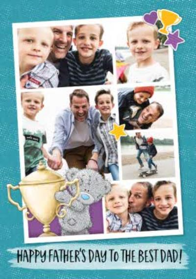 Tatty Teddy To The Best Dad Happy Father's Day Multi-Photo Card
