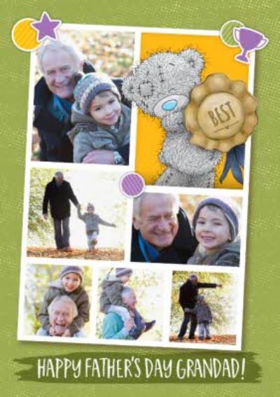 Tatty Teddy To The Best Grandad Happy Father's Day Multi-Photo Card