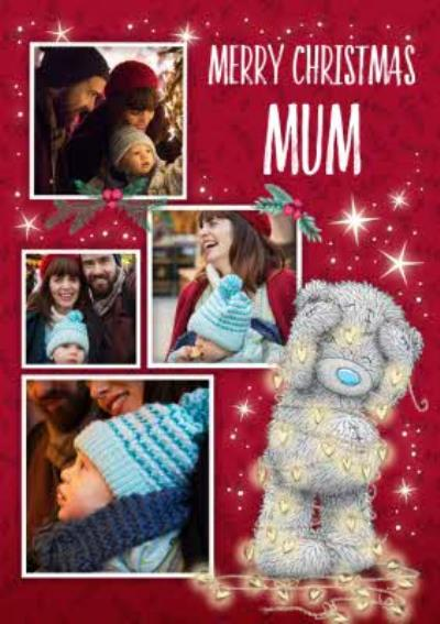 Me To You Tatty Teddy Photo Upload Christmas Card for Mum