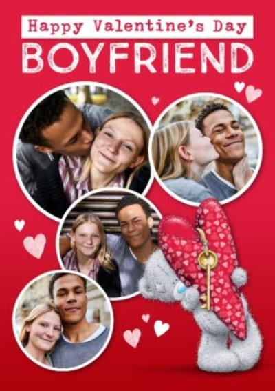 Me To You Tatty Teddy Photo Upload Valentine's Card To My Boyfriend
