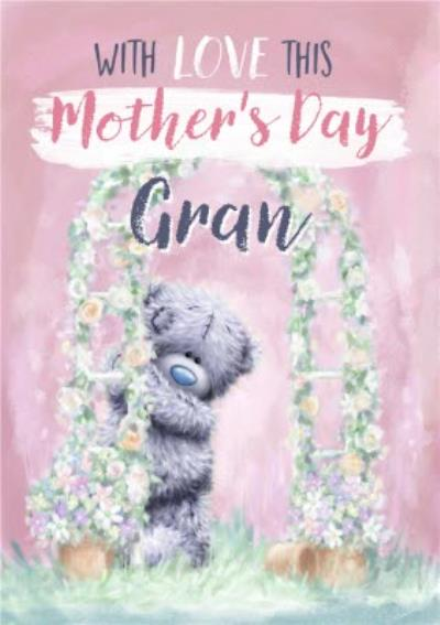 Me To You Tatty Teddy With Love Cute Mother's Day Card