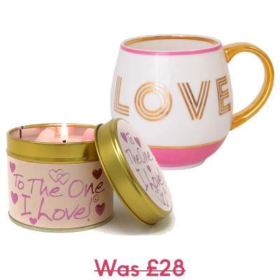 Love Mug and Candle Gift Set