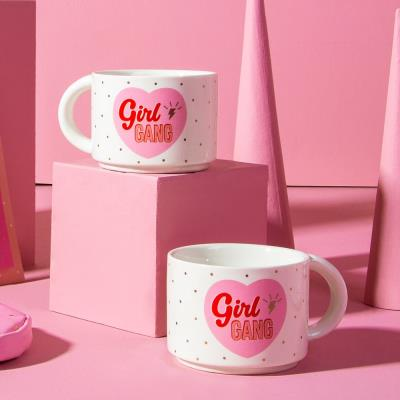 Girl Gang Stacking Mugs
