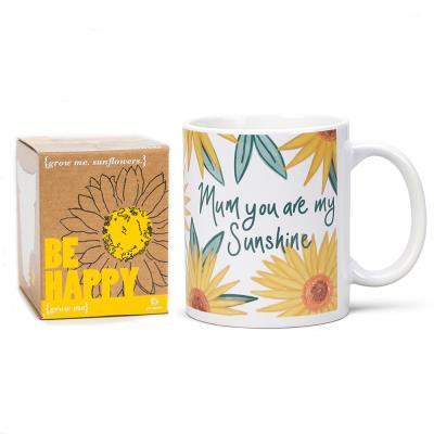 Sunflower Grow Kit & Mug Gift Set
