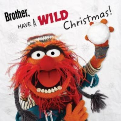 The Muppets Personalised Have A Wild Christmas Card