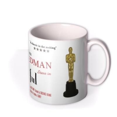 Movie Poster Award Season Personalised Mug