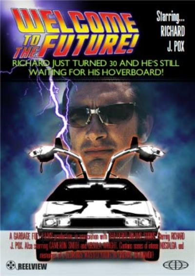 Welcome To The Future Movie Personalised Card
