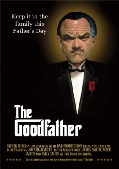 The Goodfather Personalised Father's Day Card