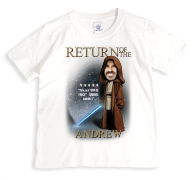 Return Of The Personalised T-shirt