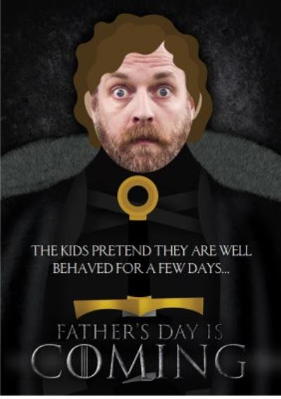 Game Of Thrones Father's Day Photo Card