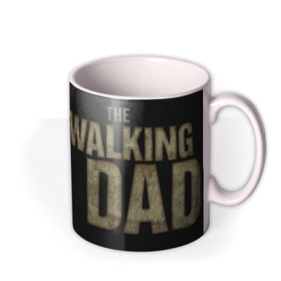 The Walking Dad Spoof Photo Upload Mug