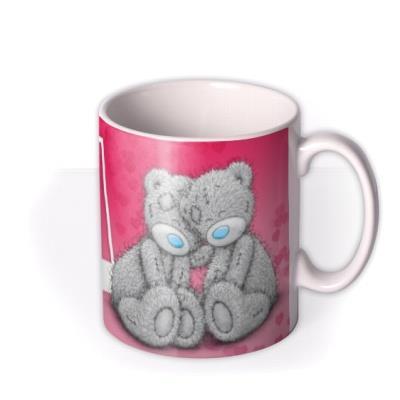 Valentine's Day Tatty Teddy The One Photo Upload Mug