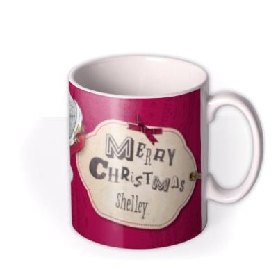 Tatty Teddy Christmas Photo Upload Mug