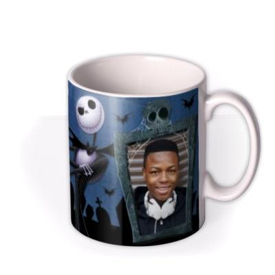 Nightmare Before Christmas Graveyard Tea Photo Upload Mug