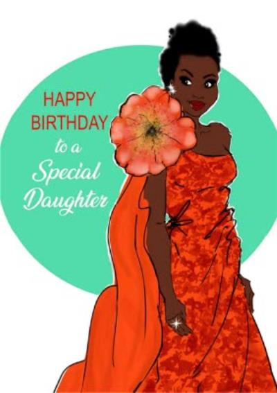 Happy Birthday To A Special Daughter Card