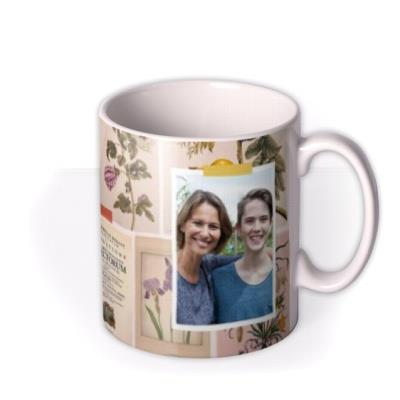 Natural History Museum Collaged Photo Upload Mother's Day Mug