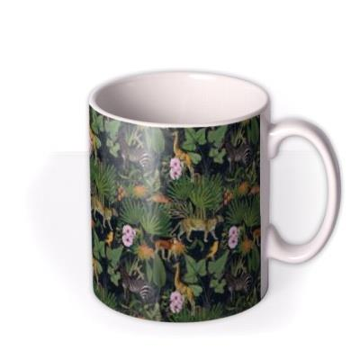 Natural History Museum Jungle Animal Print Mug