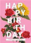 Pretty Flowers Personalised Happy Birthday Card