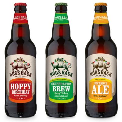 Exclusive Birthday Hogs Back Brewery Beer Trio