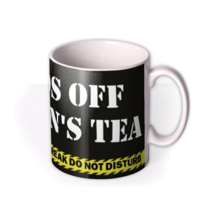 Hands Off Personalised Mug