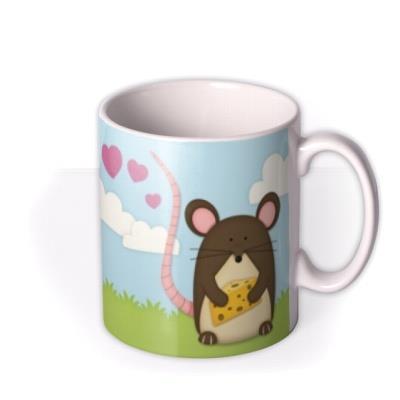 I Love You More Than Cheese Personalised Mug