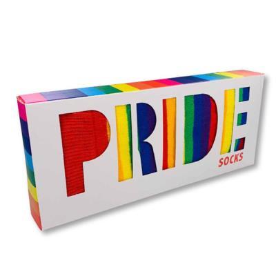 Rainbow Pride Socks 2 Pairs Gift Set