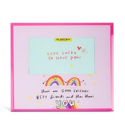 Happy News Rainbow Frame