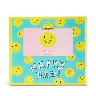 Happy News Smiley Face Frame