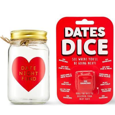 Date Night Money Jar and Dates Dice