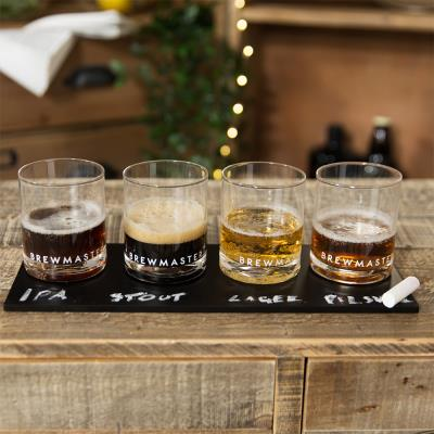Brewmaster Craft Beer Tasting Accessory with Chalk