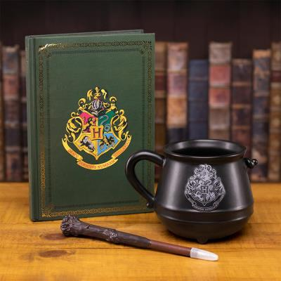 Harry Potter Mug, Notebook and Wand Pen Gift Set