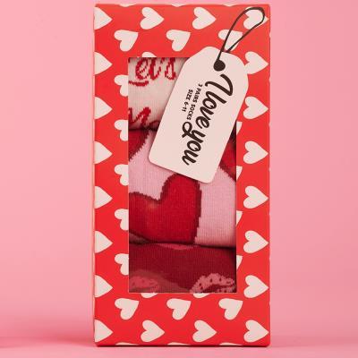 Unisex I Love You Socks Size 6 - 11