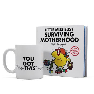 Little Miss Busy: Surviving Motherhood Book & Mug Set