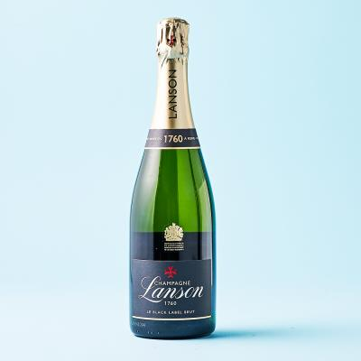Lanson Le Black Label Champagne 75cl with Free Stopper