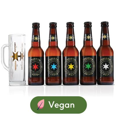 Freedom Award Winning British Lagers Gift Set