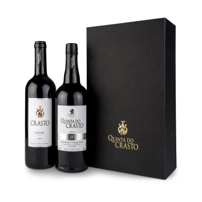 Crasto Douro Doc Premium Red Wine 75cl & Port 75cl Gift Box