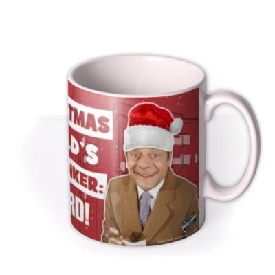 Only Fools and Horses World's Greatest Plonker Christmas Mug For Uncle