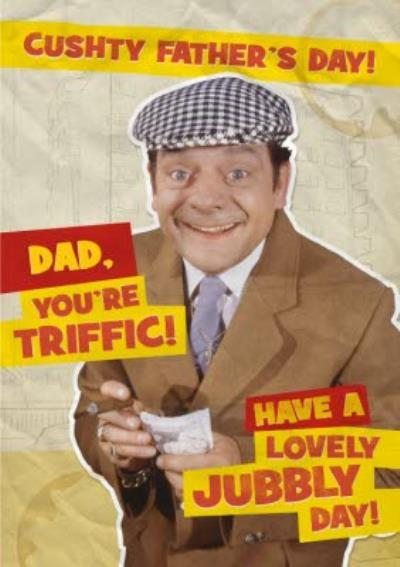 Fools And Horses Delboy You're Triffic Personalised Happy Father's Day Card