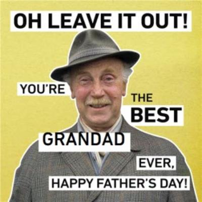 Only Fools And Horses Youre The Best Grandad Photo Card