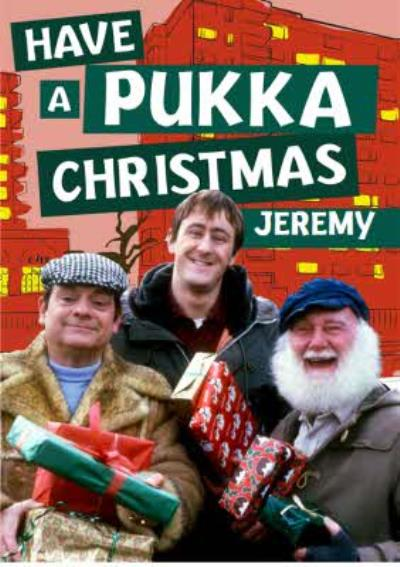 Only Fools Pukka Christmas Card