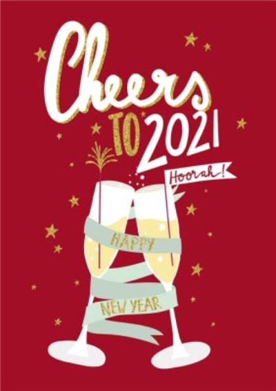 New Years Card - Cheers to 2019