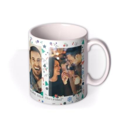 Christmas My Lovely Boyfriend 3 Photo Upload Mug