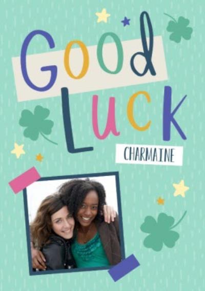 Good Luck Clova Photo Upload Card