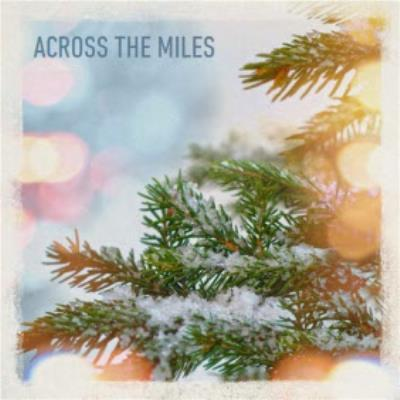 Across The Miles Pine Tree Personalised Christmas Card