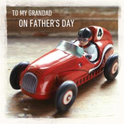 Speed Racer Grandad Fathers Day Card