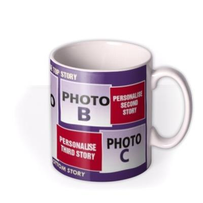 Oi Magazine Personalised Photo Upload Mug